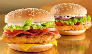 бургеры и сети быстрого питания